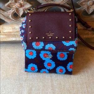 Kate Spade Crossbody and matching wallet.